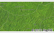 """Satellite 3D Map of the area around 6°59'36""""N,20°28'30""""E"""