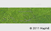 "Satellite Panoramic Map of the area around 6° 59' 36"" N, 22° 10' 29"" E"