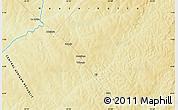 Physical Map of Essé