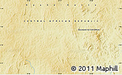 """Physical Map of the area around 6°59'36""""N,23°52'30""""E"""