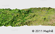 Satellite Panoramic Map of Bodītī