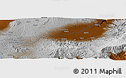 Physical Panoramic Map of Faggi