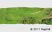 Satellite Panoramic Map of Hubo
