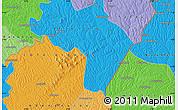 Political Map of Yametwa