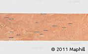 "Satellite Panoramic Map of the area around 6°59'36""N,45°7'30""E"