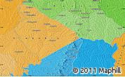 Political Map of Assié koumassi