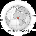 Outline Map of Nsukka Main Market., rectangular outline