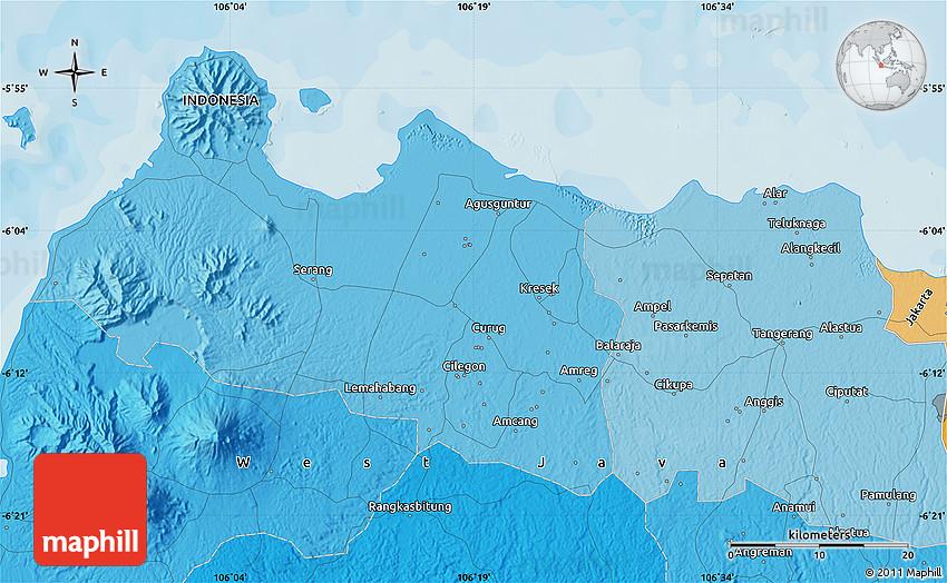 Political Map of Tangerang
