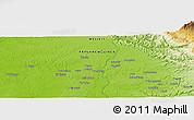 Physical Panoramic Map of Hilobi