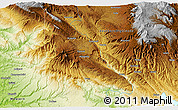 Physical 3D Map of Iabim