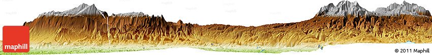 Physical Horizon Map of Iabim