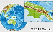 Physical Location Map of Iabim