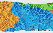 Political 3D Map of Amaiyufa