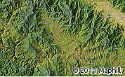 "Satellite Map of the area around 6°7'16""S,145°25'30""E"