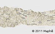 Shaded Relief Panoramic Map of Andavaiyufa