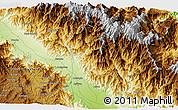 Physical 3D Map of Sakam