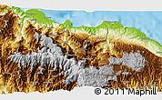 Physical 3D Map of Dokalang