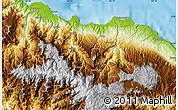 Physical Map of Dokalang