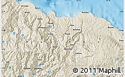 Shaded Relief Map of Amelingan