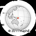 Outline Map of Giring, rectangular outline