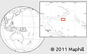 Blank Location Map of Atu