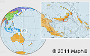 Political Location Map of Atu