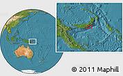 Satellite Location Map of Atu