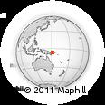 Outline Map of Kaubi, rectangular outline