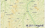 Physical Map of Kapinga-Mutshiok