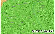 Political Map of Kapinga-Mutshiok