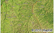 Satellite Map of Kapinga-Mutshiok