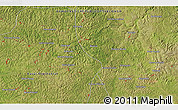"""Satellite 3D Map of the area around 6°7'16""""S,23°1'29""""E"""