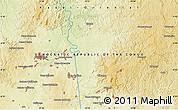 Physical Map of Mbuji-Mayi