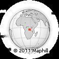 Outline Map of Kalimbu, rectangular outline