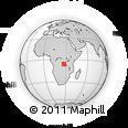 Outline Map of Zofu, rectangular outline