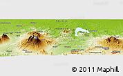 Physical Panoramic Map of Babakan Dua