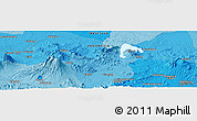 Political Panoramic Map of Babakan Dua