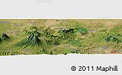 Satellite Panoramic Map of Babakan Dua