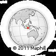 Outline Map of Kolo-kolo, rectangular outline
