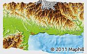 Physical 3D Map of Lumbaip