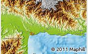 Physical Map of Lumbaip