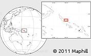 Blank Location Map of Kaekui