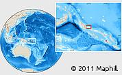 Shaded Relief Location Map of Kaekui