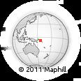 Outline Map of Simbesimbe, rectangular outline