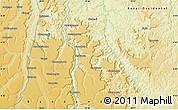 Physical Map of Shakahamba