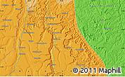 Political Map of Shakahamba