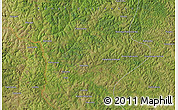 "Satellite Map of the area around 6°38'39""S,21°19'30""E"