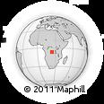 Outline Map of Bakwa-Kashile, rectangular outline