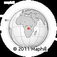 Outline Map of Kamai, rectangular outline
