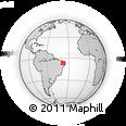 Outline Map of Sousa, rectangular outline